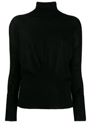 Lorena Antoniazzi Roll Neck Sweater Black