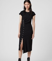 Allsaints Hatti T Shirt Dress Black