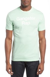 Kid Dangerous Men's Gangster Rap Graphic T Shirt Light Green