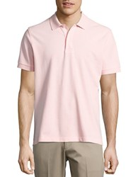 Brooks Brothers Classic Cotton Polo Light Pink
