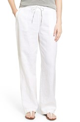Vince Camuto Women's Two By Wide Leg Linen Pants