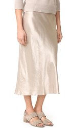 Vince Slip Skirt Stucco