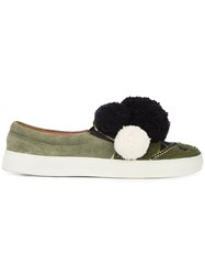 Figue Karita Slip On Sneakers Green