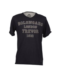Bolongaro Trevor Short Sleeve T Shirts Dark Blue