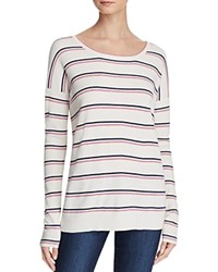 Soft Joie Keoni Striped Sweater Porcelain
