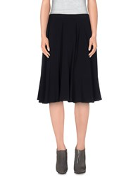 Miu Miu Skirts Knee Length Skirts Women Black