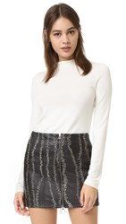 Alice Olivia Genova Fitted Sweater Cream