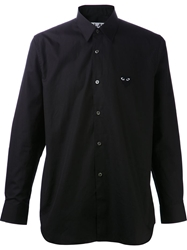 Comme Des Garcons Play Classic Button Up Shirt Black