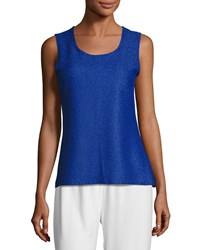 Berek Sweet Thing Crinkle Tank Cobalt Plus Size