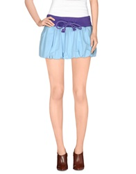 Atelier Fixdesign Mini Skirts Sky Blue