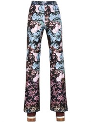 Clover Canyon Floral Sunset Neoprene Pants