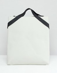 Rains Shift Backpack White