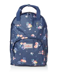 Cath Kidston Busby Bunch Multi Poclet Backpack Blue