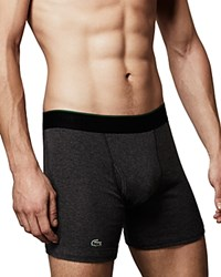 Lacoste Solid Cotton Boxer Briefs Pack Of 3