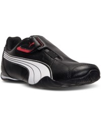 Puma Men's Redon Move Sneakers From Finish Line Black White Red