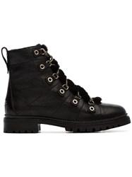Jimmy Choo Hillary Hiking Style Boots Black