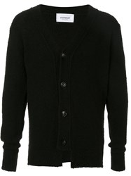 Dondup Single Breasted Fitted Cardigan Black