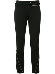 Derek Lam Zipped Detail Cropped Trousers Black