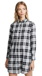 Baldwin Denim Sloane Dress Black Plaid