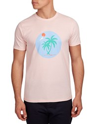 Hymn Margate Tropical Graphic T Shirt Pink