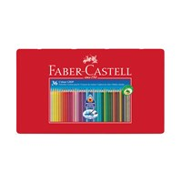 Faber Castell Colour Grip 2001 Pencils Tin Of 36