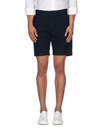 Burberry Brit Trousers Bermuda Shorts Men Dark Blue