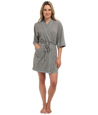 Josie Spicy Essentials Wrap Heather Grey Women's Robe Gray