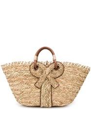 Anya Hindmarch Bow Detail Basket Tote 60