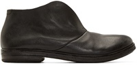 Marsell Black Slip On Desert Boots