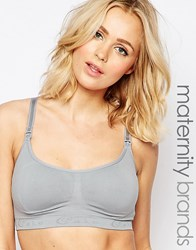 Cake Lingerie Cake Cotton Candy Grey Maternity And Nursing Bra Grey