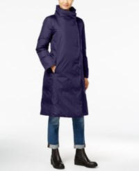 Eileen Fisher Stand Collar Down Coat A Macy's Exclusive Midnight