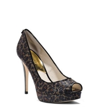 Michael Kors York Cheetah Print Platform Pump