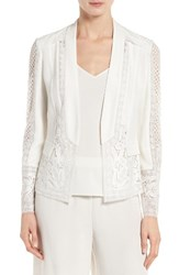 Kobi Halperin Women's Holly Lace Jacket Ivory