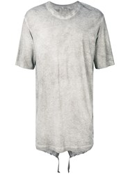 Lost And Found Ria Dunn Parka T Shirt Grey