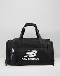 New Balance Solar Medium Holdall In Black Black