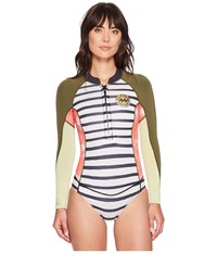 Billabong Salty Dayz Long Sleeve Spring Suit Multi Women's Wetsuits One Piece