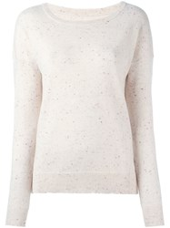 Zadig And Voltaire 'Cici' Jumper Nude And Neutrals