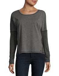 Bench Long Sleeved Dolman Sleeved Top Black