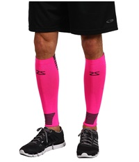 Zensah Ultra Compression Leg Sleeves Neon Pink Athletic Sports Equipment