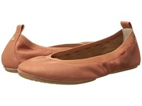 Hush Puppies Chaste Ballet Spice Suede Flat Shoes Brown