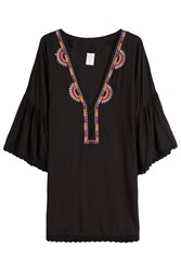 Ale By Alessandra Embroidered Kaftan Gr. M L