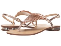 Menbur Geranio Even Rose Gold Women's Dress Sandals Brown