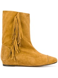Jerome Dreyfuss Paz Boots Yellow Orange
