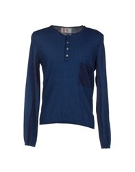 N 4 Four Knitwear Jumpers Men Dark Blue