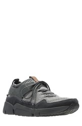 Clarks Tri Active Gtx Sneaker Black Leather
