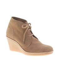 J.Crew Macalister Wedge Boots Nut