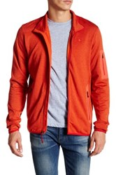 Champion Active Knit Zip Jacket Red