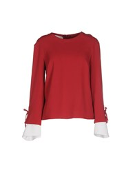 Betty Blue Shirts Blouses Women Garnet