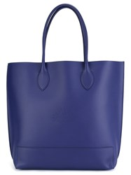 Mulberry 'Blossom' Tote Blue