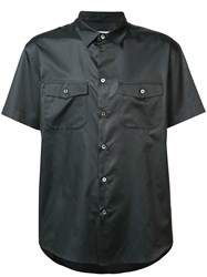 Julien David Shortsleeved Shirt Black